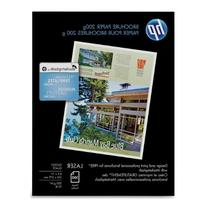 HP Laser Glossy Brochure Paper 100 Sheets 8.5 x 11 inch 200