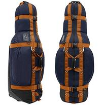 Club Glove Last Bag Pro Golf Travel Cover - Navy w/ Copper