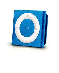 Latest Generation Apple Blue iPod Shuffle Waterproofed by