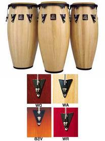 "LP Latin Percussion Aspire Wood 11"" Conga - Natural w/ Black"