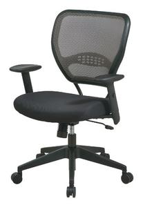 SPACE Seating AirGrid Latte Back and Padded Padded Mesh Seat