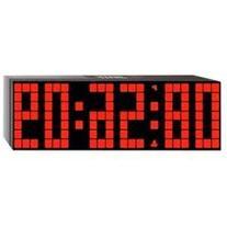 Lattice LED Digital Alarm / Countdown/Up Clock with Remote,
