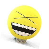Baden Laughing Single Emoji Ball, Yellow