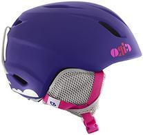Giro Launch Snow Helmet - Kid's Matte Purple Clouds Small
