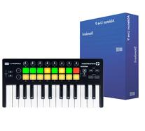 Novation Launchkey Mini 25 Key USB MIDI Controller, Black