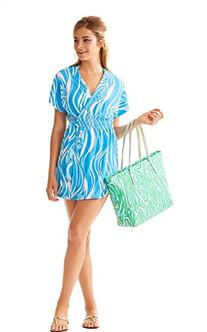 Lilly Pulitzer Laurian Cover-up Wrap Dress