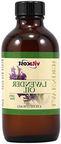 Vitacost 100% Pure Lavender Oil -- 4 fl oz
