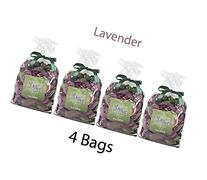 Hosley Candle Company Lavender Potpourri - Set of 4 bags / 8