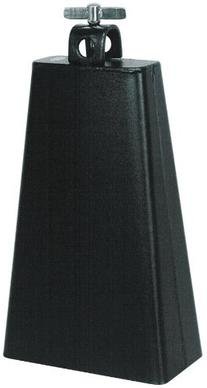 Percussion Plus LC7BK Black 7 1/2-Inch Cowbell