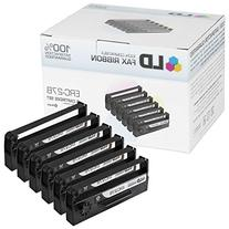 LD © Epson Compatible Replacement 6 Pack Black POS Ribbon