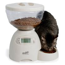 Petmate Le Bistro Portion-Control Automatic Pet Feeder, 5-