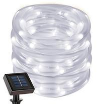 LE 22.97ft Solar Rope String Lights, Waterproof IP55, 50 LED