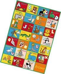 Learning Alphabet Kids Carpet Design ABC Food