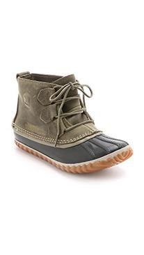 Women's SOREL 'Out N About' Leather Boot, Size 11 M - Green