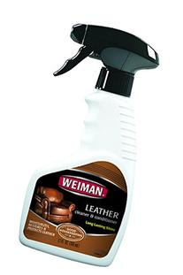 Weiman Leather Cleaner & Conditioner - Gentle Formula Cleans