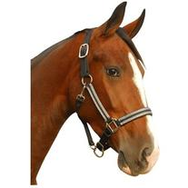 Intrepid International Leather Crown Breakaway Padded Halter