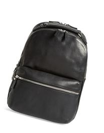Men's Shinola 'Runwell' Leather Laptop Backpack - Black