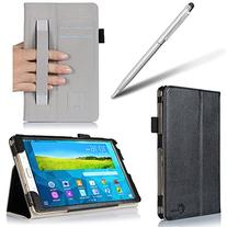 i-BLASON Samsung Galaxy Tab S 8.4 Case - Leather Book  With