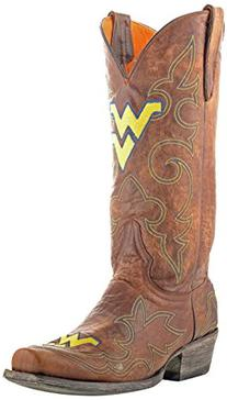 Gameday Boots Mens Leather West Virginia Cowboy Boots