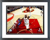 LeBron James Cleveland Cavaliers 2014 NBA Photo  Framed