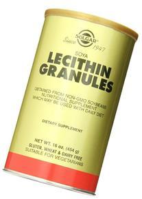 Solgar Lecithin Granules Supplement, 16 Ounce