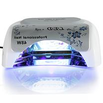 Roleadro 48w LED&CCFL Nail Dryer Suitable for Drying LED&UV