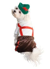 Anit Accessories Lederhosen Lovable Comfortable Pet Puppy