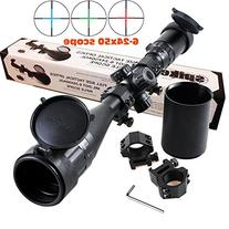 Ledsniper®riflescope 6-24x50 Aoe Red & Green & Blue