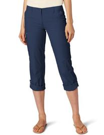 Columbia Women's Full Leg Roll-Up Aruba Pant, Collegiate