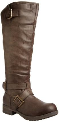 Madden Girl Women's Legacie Boot,Brown Paris,7.5 M US