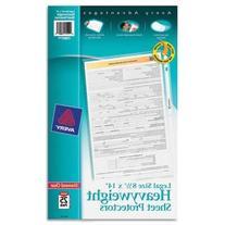 AVERY 73897 Top-Load Polypropylene Sheet Protector, Heavy,