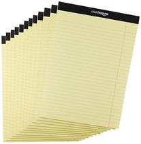 AmazonBasics Legal/Wide Ruled 8-1/2 by 11-3/4 Legal Pad -