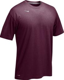 Nike Legend Maroon Short Sleeve Performance Shirt