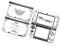 Legend of Zelda Majora's Mask Special Edition White Silver Video Game Vinyl Decal Skin Sticker Cover for the New Nintendo 3DS XL LL 2015 System