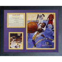 Legends Never Die Kobe Bryant 81 Point Game Framed