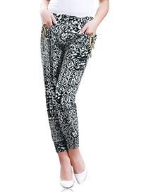 Allegra K Women's Leggings Pants Solid Casual Skinny
