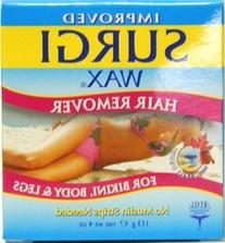 Surgiwax Body and Legs Hair Remover 4 oz. Jar