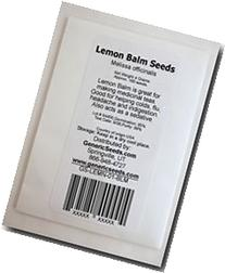 Lemon Balm Seeds - Melissa Officinalis - .1 Grams - Approx