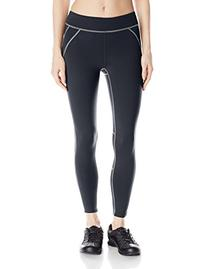 Oiselle Women's New Lesley Tights, Black, 4