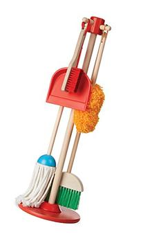 Melissa & Doug Let's Play House Dust! Sweep! Mop! 6-Piece