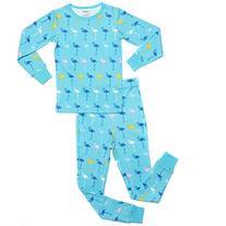 "Leveret Kids ""Flamingos"" 2 Piece Pajama Set 100% Cotton"