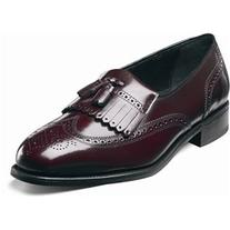 Florsheim Men's Lexington Wingtip Tassel Slip-On Wine Legacy
