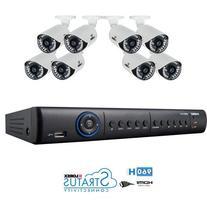 Lorex Lh1896 8 Channel 960h Cameras with 1tb DVR Remote