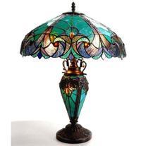 Liaison 3 Light Double Lit Table Lamp