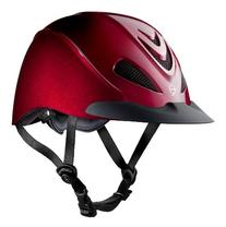 TROXEL LIBERTY HELMET - RUBY RED - LOW PROFILE ENGLISH &