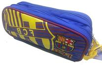 Official Licensed GENUINE FC Barcelona Pencil Case DOUBLE