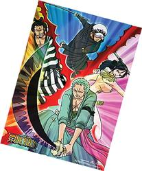 Official Licensed One Piece Wall Scroll: Law, Zoro, Tashigi