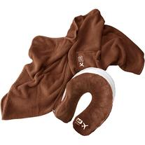 Lug Life Snuz Sac U Blanket & Pillow - Chocolate