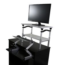 LIFT Standing Desk Conversion Kit - Tall, Affordable,