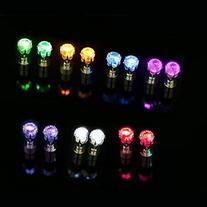 Ayamaya 9 Pairs Light up LED Earrings Studs Flashing